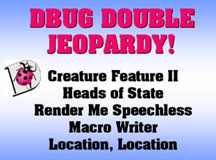 Double Jeopardy Categories