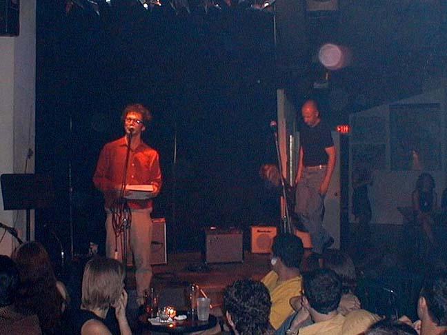 Michael Azerrad introduces Bob, 25 Aug 2001