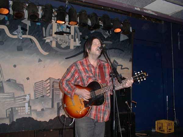 Grant Hart, soundcheck, 08 Feb 2002