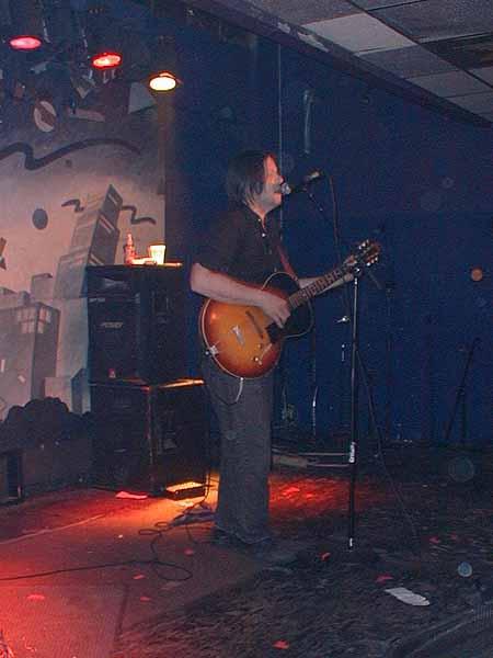 Grant Hart, performing, 08 Feb 2002