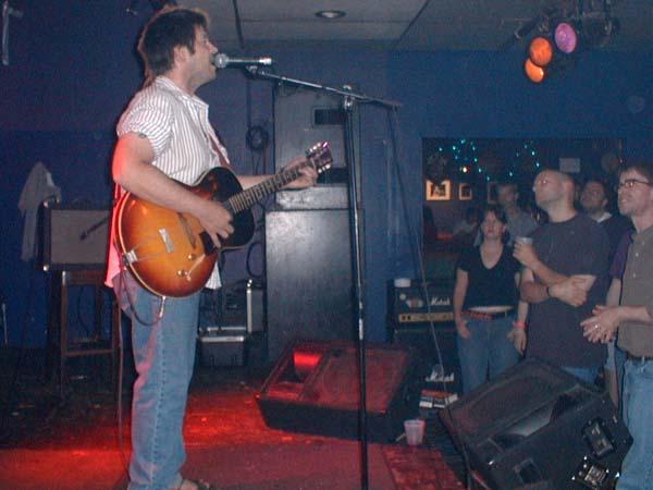 Grant Hart, audience, 11 Jul 2002