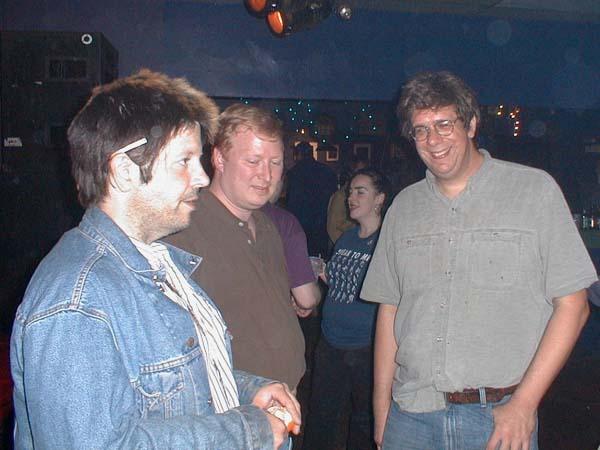 Grant Hart, Paul Harsha, Brett Milano, 11 Jul 2002